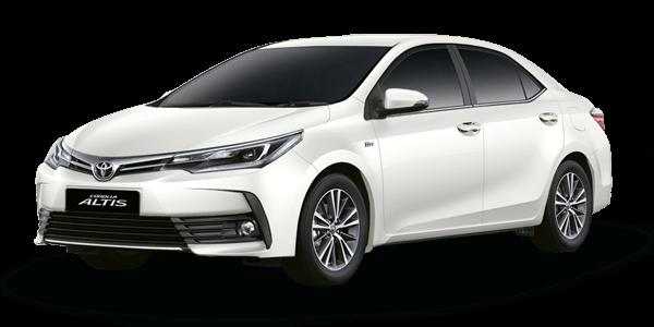 New Toyota Altis